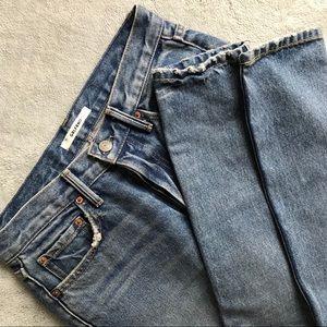 GRLFRND Karolina High Rise Distressed Skinny Jean